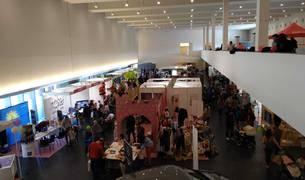 Expofamily amanece en su segundo día con cientos de personas en Baluarte