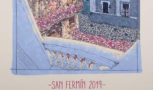 Carteles de San Fermín 2019