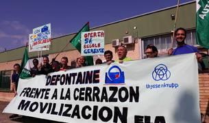 Trabajadores de Defontaine Iberica.