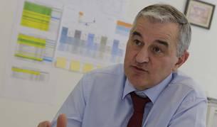 Dámaso Molero, director general de 3P Biopharmaceuticals, durante la entrevista.