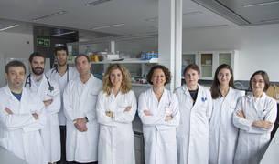 Profesionales de la Unidad de Inmunomodulación y Oncología Médica en Navarrabiomed.