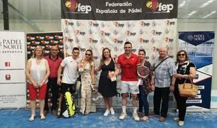Julio Martínez y Pitu Loebarth, campeones de España de Veteranos +40