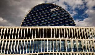 Foto de la sede de BBVA en Madrid.