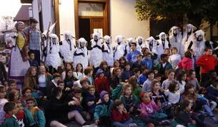 Fotos del inicio de las fiestas de Lekunberri este miércoles