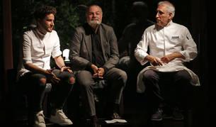 Leandro Gil, Jesús González Mateos y Adolfo Muñoz.