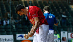 Ezkurdia gana por la mínima a Unai Laso tras ir perdiendo 13-21