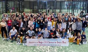 Los participantes en el Trofeo ECO Señorío de Sarría Rosé.