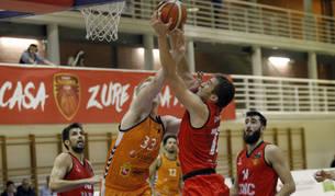 El último cuarto, clave en el quinto triunfo del Basket Navarra