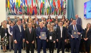 Representantes que han participado en la reunión de INSTO en Madrid.