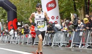 Miguel Aristu, 17º, fue el primer navarro en meta con 1h05:15.