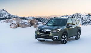 Foto del Subaru Forester.