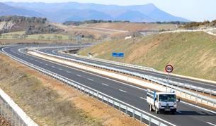 El nuevo tramo de la A-21 entre Puente La Reina y Santa Cilia entró en servicio este jueves.