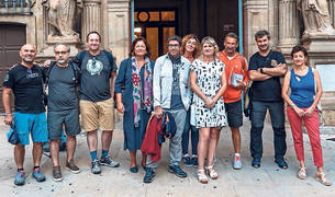 Pamplona acoge hoy un cásting para la serie de televisión '3 Caminos'