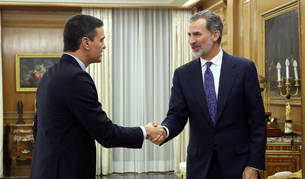 Felipe VI propone a Pedro Sánchez para someterse a la investidura