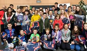Foto de campeones de la primera prueba del Circuito Navarro de menores.