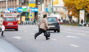 multa peatones seguros
