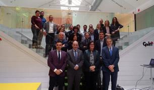 Foto de grupo de los participantes en la clausura de la sexta edición de Impulso Emprendedor.