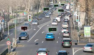 Semáforos en verde