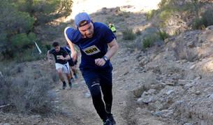 Foto de un grupo de corredores, en una de las cuestas que presentó el 'Larrate Trail' del pasado año.
