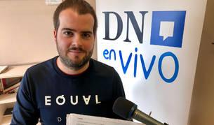 Aser Vidondo, con uno de los reportajes dedicados a la despoblación en el Pirineo.