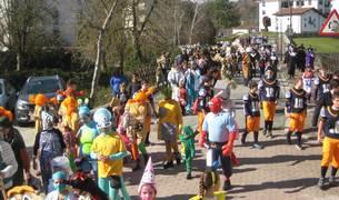 Todas las fotos del carnaval de Lekunberri