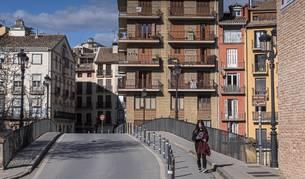 Puente del Azucarero de Estella, acceso al barrio monumental y zona más turística de la ciudad.