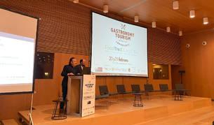 Foto de la inauguración del 3º Congreso Internacional de Turismo Gastronómico FoodTrex Navarra.