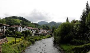 Imagen de Etxalar, uno de los municipios con más casas rurales en Navarra.