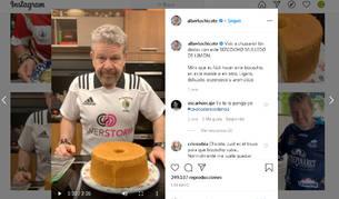 Alberto Chicote ofrece sus recetas a través de su cuenta de Instagram.