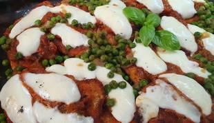 Estos filetes de pavo milanesa son una de las tres recetas italianas de hoy.