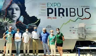 foto de La exposición itinerante sobre el Pirineo 'Piribus' está instalada en el Señorío de Bertiz