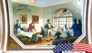La compra de Luisiana bien vale una reeleción (1804)