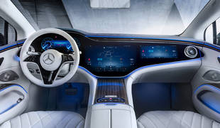 Mercedes pantalla