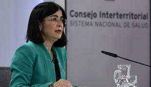 Foto de la ministra Carolina Darias.