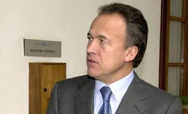 Pedro Pacheco, exalcalde de Jerez, en 2001.