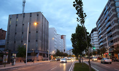 La agresión se produjo en la Avenida de Bayona de Pamplona