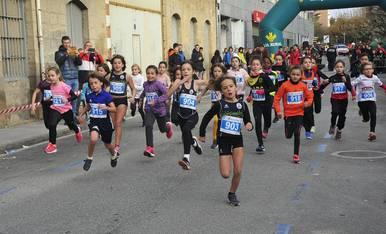 Galería de fotos de las carrera celebrada este domingo en Tafalla.
