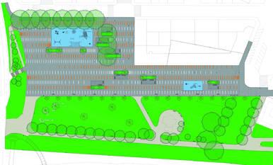 Comienzan las obras de urbanización del entorno del patinódromo de San Jorge