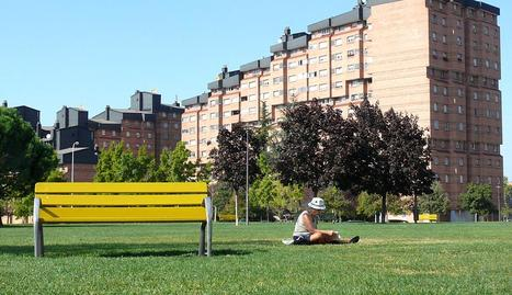 Domingo caluroso en Pamplona