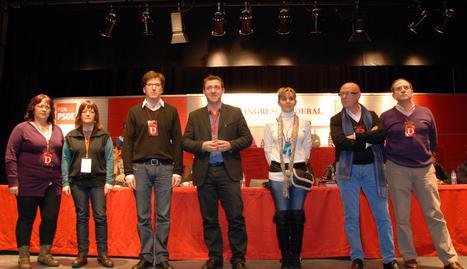 Los 8 delegados del PSN