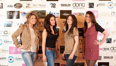 De izquierda a derecha: Andrea Morillas, Tifanny Soto, Sandra Alfaro y Silvia Parral