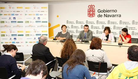 Carmen Rubio (izda) y Laura García (dcha) han sido seleccionadas para acudir a las Paraolimpiadas