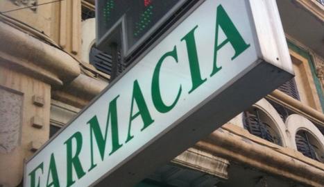 Una farmacia, en Cataluña