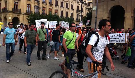 Manifestación de Inasa