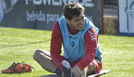 Jon Echaide, novedad en la convocatoria de Mendilibar para el partido ante el Atlético de Madrid.. SAN MARTIN