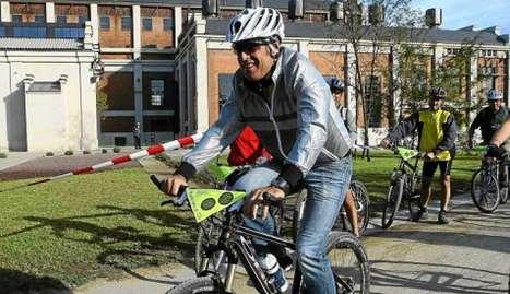 Pedro Delgado ha participado en la 77 edición de la Carrera del Pavo en Segovia. Marca.com