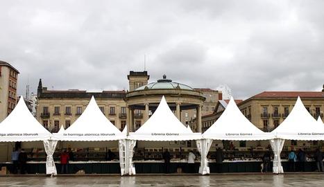 Apertura de la XII Feria del Libro de Pamplona