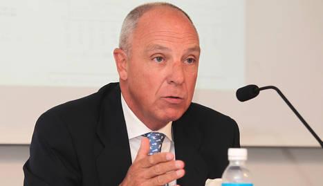 Javier Taberna, presidente de la Cámara de Comercio.. CALLEJA