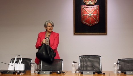 Lourdes Goicoechea. ARCHIVO