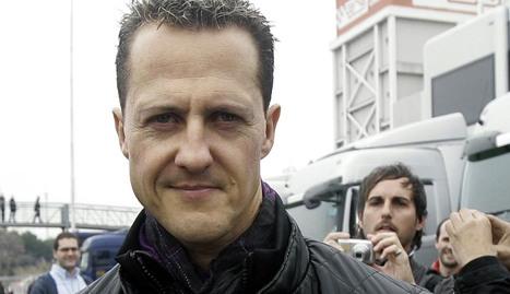 Michael Schumacher, en una imagen de 2010